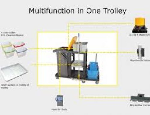 Multifunction in One cleaning carts